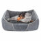 Pecute Deluxe Pet Bed – Cuccia da Interno Grande con Cuscino