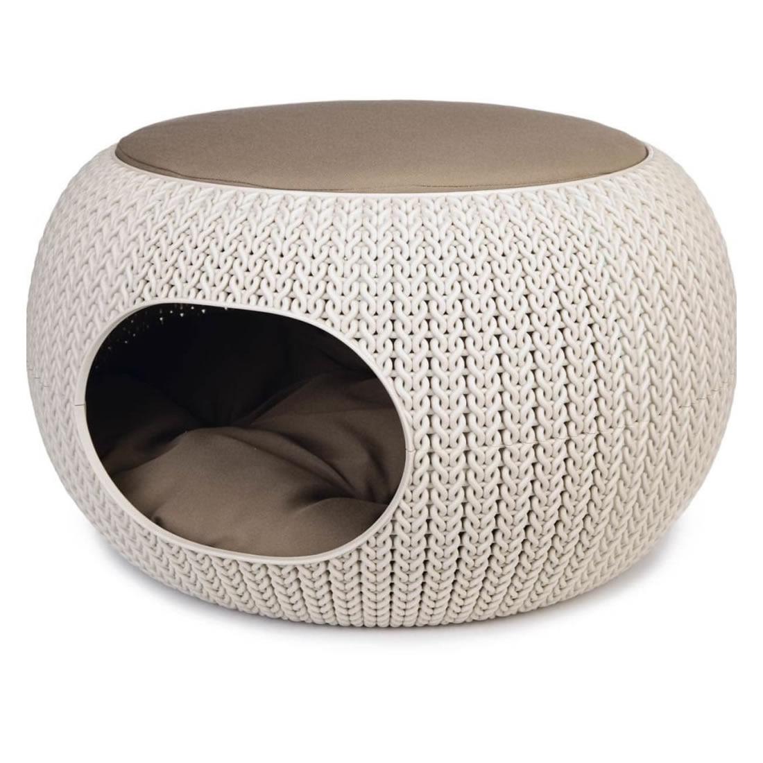 Cucce Design Per Cani curver cozy pet home - cuccia da interno per cani di piccola