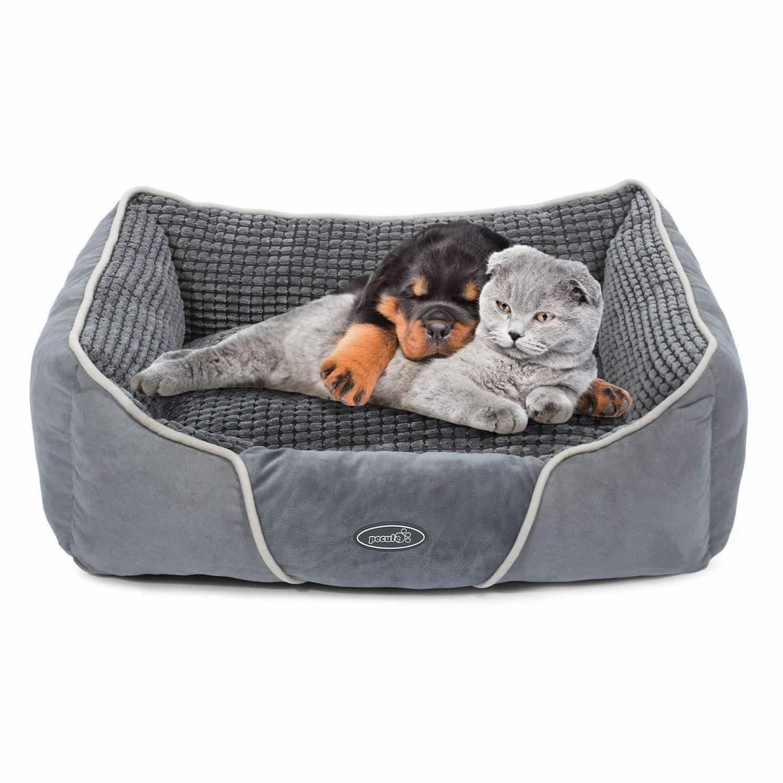 Cucce Design Per Cani pecute deluxe pet bed - cuccia da interno grande con cuscino